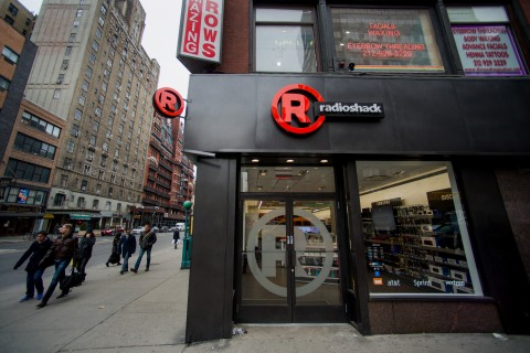 A RadioShack Store Ahead Of Earnings Figures