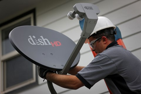 Ride Along With During A Dish Network Installation Amidst A Pay-TV Merger Speculation
