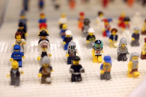 FRANCE-ECONOMY-RETAIL-LEGO